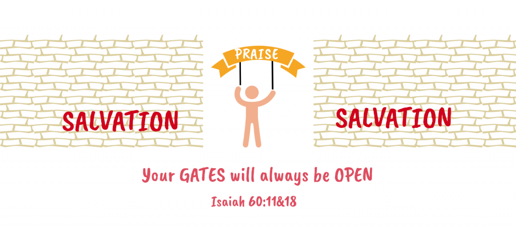 SalvationWalls_OpenPraiseGates